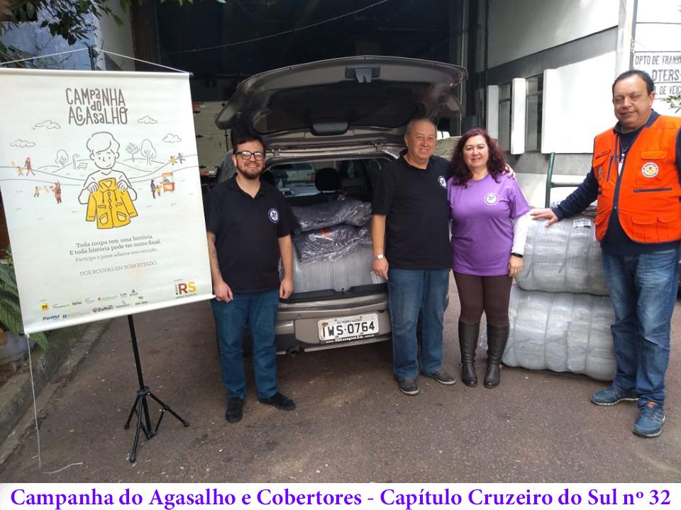 Cruzeiro - Campanha do Agasalho